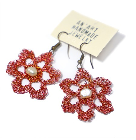 Vathe Artizanale Lule e Kuqe me Grep
