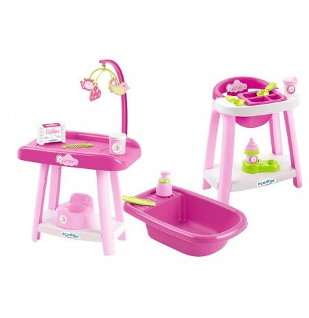 Ecoiffier Set 3 ne 1 Perkujdesi I Bebes