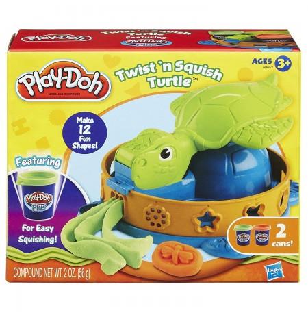 Play Doh Set Plasteline Turtle Twist