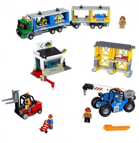 Lego City Cargo Terminal Construction 60169