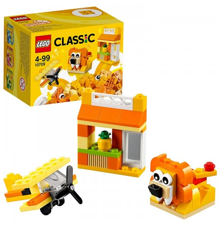 Lego Classic Orange Creativity Box 10709