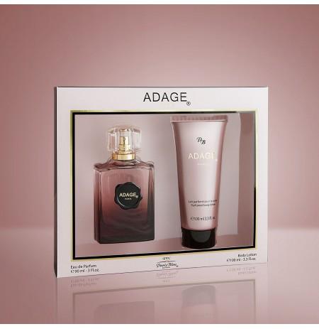 Set Parfume & Locion per Trupin Adage per Femra