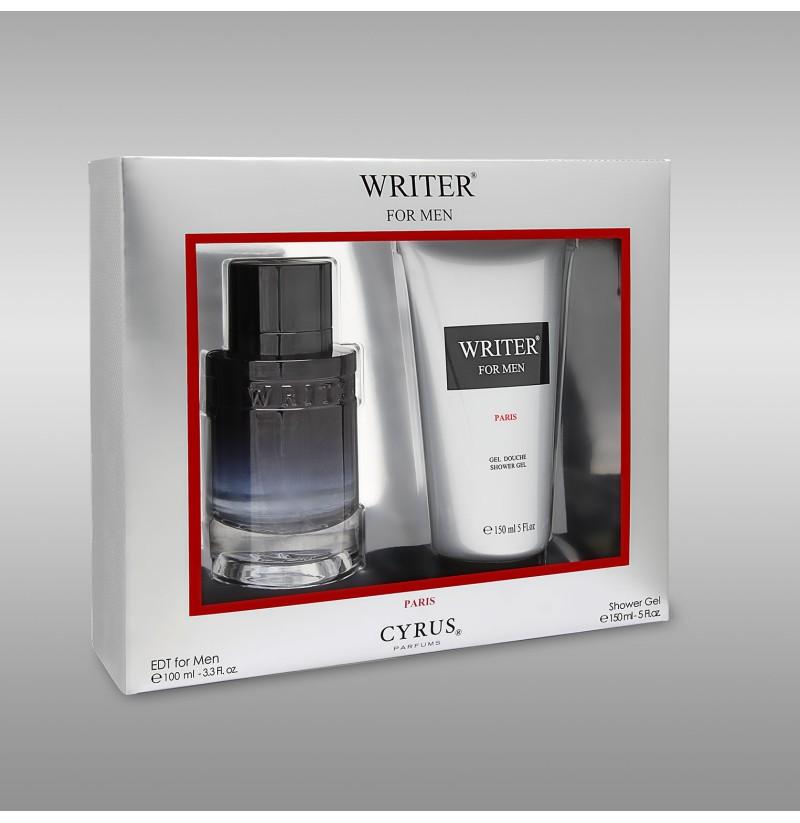 Set Parfume & Xhel Dushi per Trupin Writer per Meshkuj
