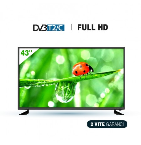 "TV LED Elektra 43""  ET-43FHD18-T2"