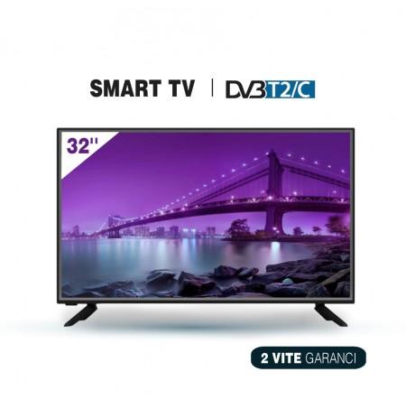 """Tv Elektra LED 32"""" ET-32HD18S-T2 Smart TV"""
