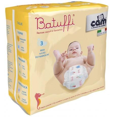 Cam Pelena Batuffi 3 (4-9kg) 20 cope