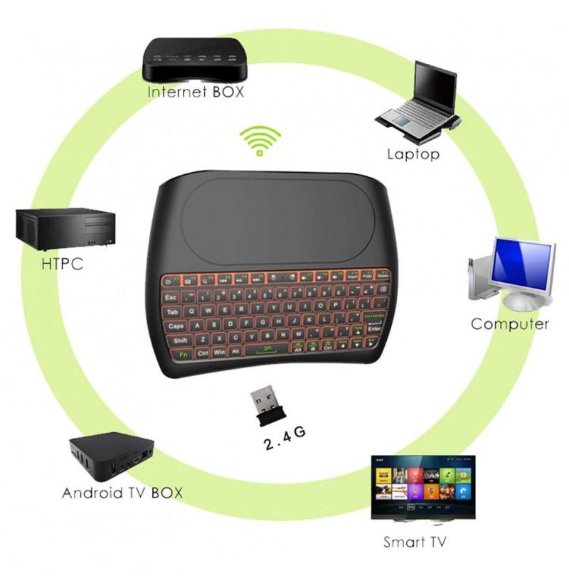 Tastiere Wireless D8+