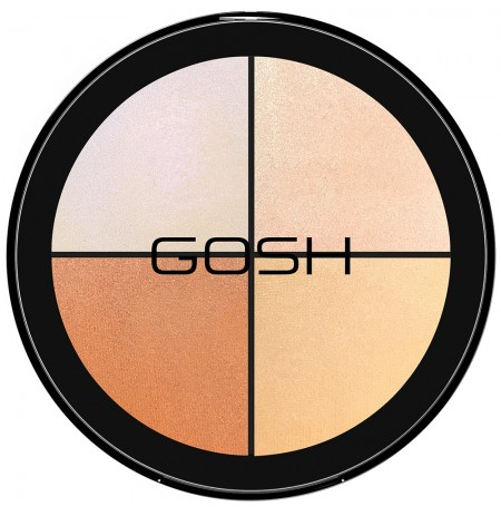 GOSH Blush Strobe'n Glow kit 001