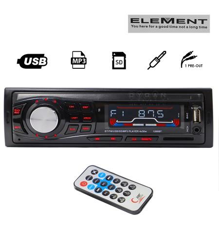 Kasetofon Bluetooth Radio USB SD MP3 AUX