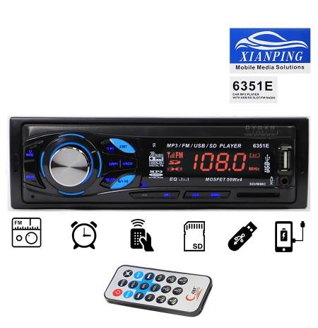 Kasetofon 6351 Radio USB SD MP3 AUX