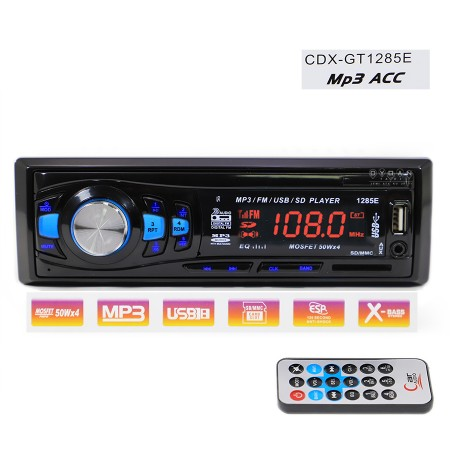 Kasetofon 1285 Radio USB SD MP3 AUX
