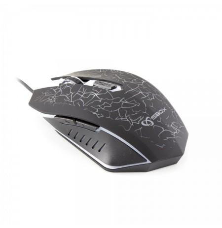 Mouse Sbox GM-204 Black