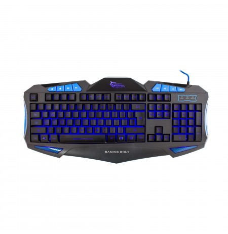 Tastiere Shogun Blue White Shark Keyboard GK-1621 Blue