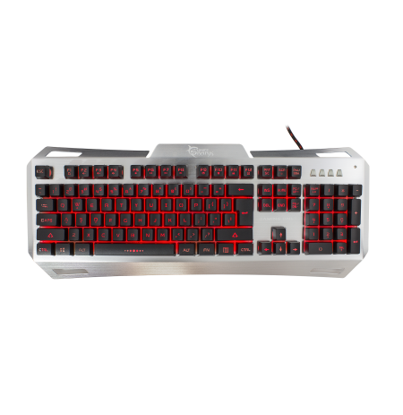 Tastiere  Gladiator White Shark Keyboard GK-1623 Metal