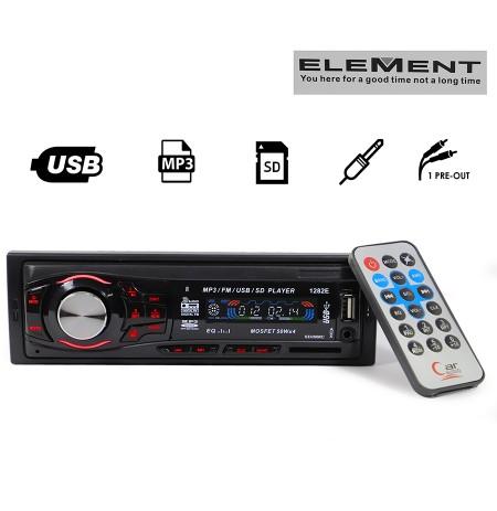Kasetofon 1282 Radio USB SD MP3 AUX