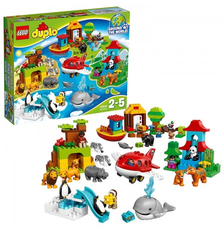 Lego Duplo Journey Around The World 10805