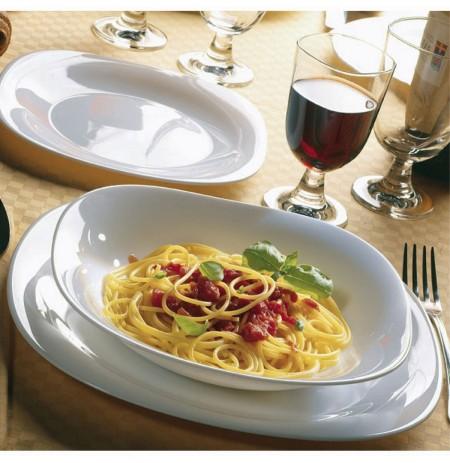 Set pjatash te cekta Parma 6 cope 20 cm
