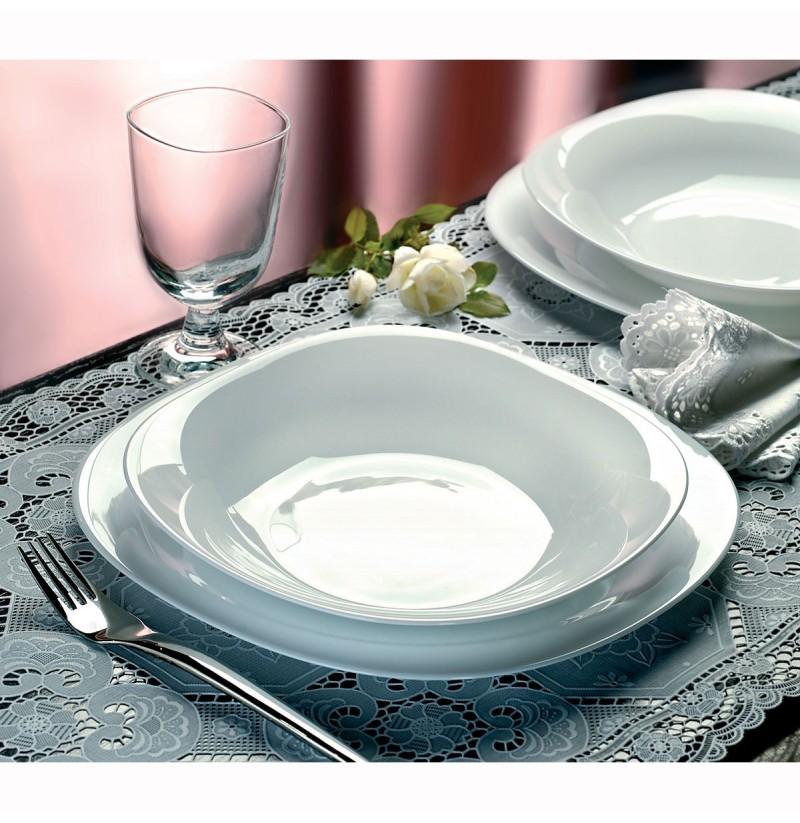 Set pjatash supe Parma 6 cope 23 cm