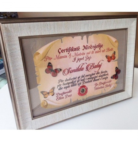 Certifikate Mirenjohjeje