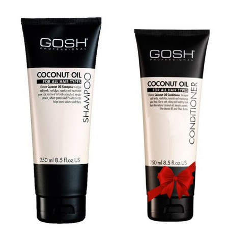 Gosh Shampo Coconut Oil 250 ml + Balsam  Falas