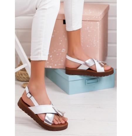 Sandale te Bardha Lekure Tess