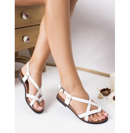 Sandale te Bardha Lekure Anjali