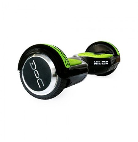 Hoverboard Nilox Doc UL 2272 Black/Green 6.5