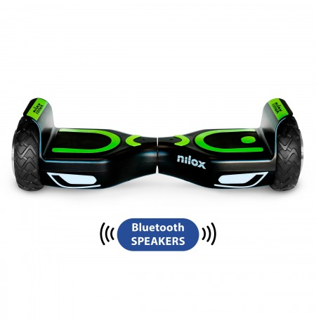 Hoverboard Nilox Doc 2 Plus Black 6.5