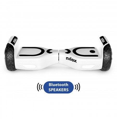Hoverboard Nilox Doc 2 Plus White 6.5