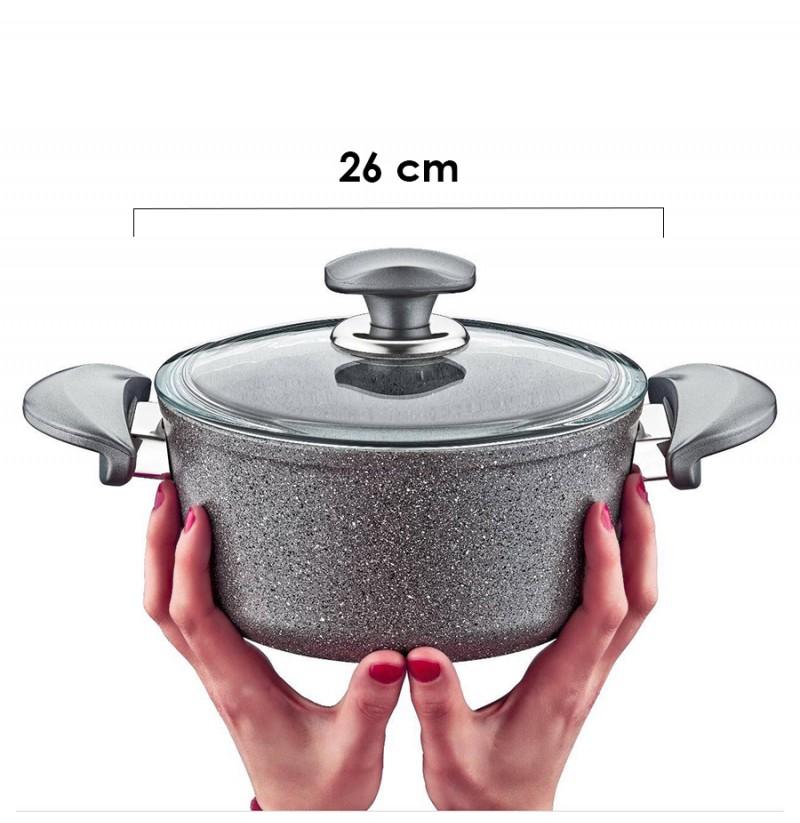 Tenxhere graniti 26 cm O.M.S