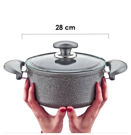 Tenxhere graniti 28 cm O.M.S