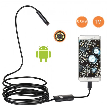 Android endoscope 5.5mm 2m