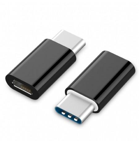 Kabell Gembird USB 2.0 Type-C Adapter (CM/MicroUSB-F)