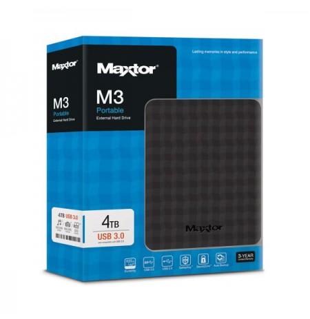 """HDD Seagate Maxtor M3 4TB 2.5"""" USB 3.0 i Jashtem"""