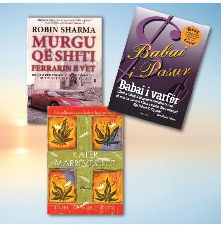 Librat më të mirë për zhvillimin personal 2 – set me 3 libra