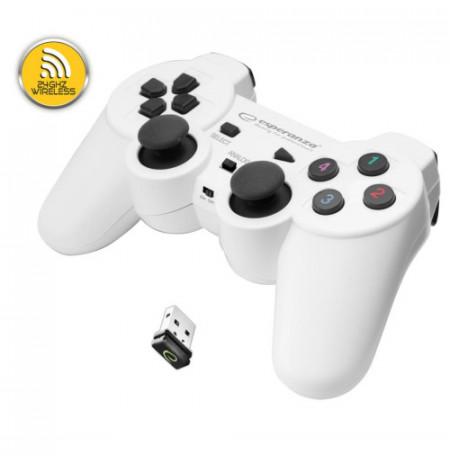 LEVE WIRELES WHITE PER PC/ANDRODT TV/PS2 EGG108W