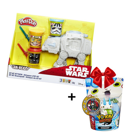 Set Playdoh Plastelin Star Wars + Yokai Figure Hasbro