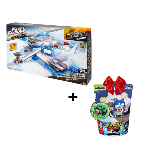 Mattel Pista Fast & Furios Missile + Yokai Figure Hasbro