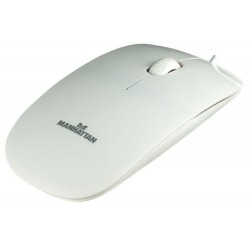 Mouse Optical Manhattan Slim White