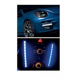 Shirit Led fleksibel 12 leds Blu