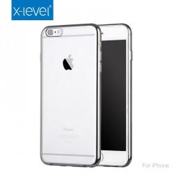 Kase per iPhone6 Transparente me kontur te zi/te bardhe