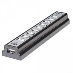 HUB USB 2.0 , 10 porta Manhattan