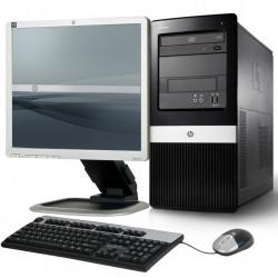 "Set Desktop HP dx2400 + Monitor HP 19"" + Tastier & Mouse"
