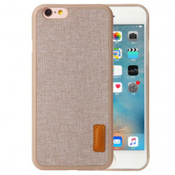 iPhone 6+/6S+ Baseus Grain Kase e Gomuar dhe Veshje