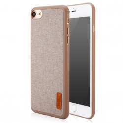 iPhone 7 Baseus Grain Kase e Gomuar dhe Veshje