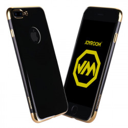 iPhone 7+, Joyroom Kase e Gomuar Black & Gold