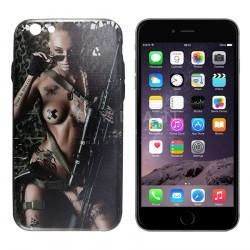 iPhone 6/6S, WK Kase Plastike me Anesore te Gomuara