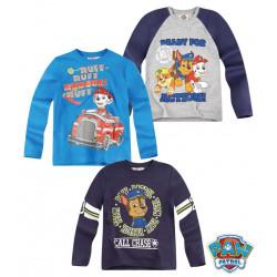 Bluze me Menge te Gjata Paw Patrol 6 - 12 Vjec ne 3 Ngjyra