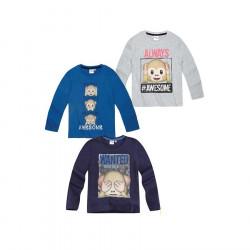 Bluze me Menge te Gjata Emoji 4 - 10 Vjec