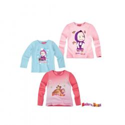 Bluze me Menge te Gjata Masha dhe Ariu 4 - 9 Vjec